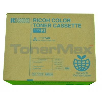 RICOH AFICIO 2232C TYPE P1 TONER CYAN